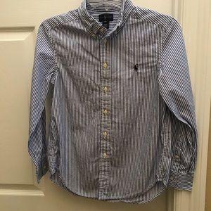 Ralph Lauren shirt (big boy's M 10-12)